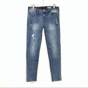 Aeropostale Distressed Skinny Jeans Sz 8